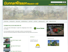 Tablet Preview of gunnarnilssonmaskin.se
